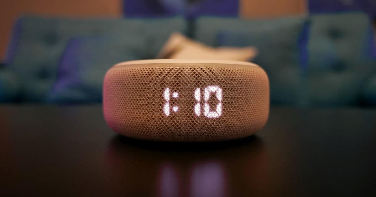 Amazon Echo Dot (3e génération) avec horloge : test : L'heure est venue